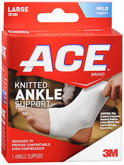 ACE Knitted Ankle Support Large - 1 EA