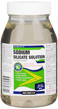 Humco Sodium Silicate Solution Water Glass - 30 OZ