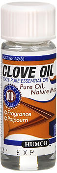 Humco Clove Oil - 0.125 OZ