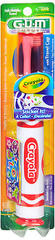 GUM Crayola Toothbrush with Travel Cap Soft - 1 EA