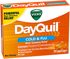 Vicks DayQuil Cold & Flu LiquiCaps - 24 EA