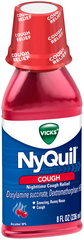 Vicks NyQuil Cough Liquid Cherry - 8 OZ