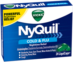 Vicks NyQuil Cold & Flu LiquiCaps - 24 CAP