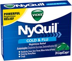 Vicks NyQuil Cold & Flu LiquiCaps - 24 CAP