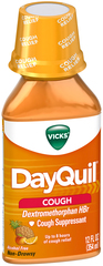 Vicks DayQuil Cough Relief Liquid Fruit - 12 OZ