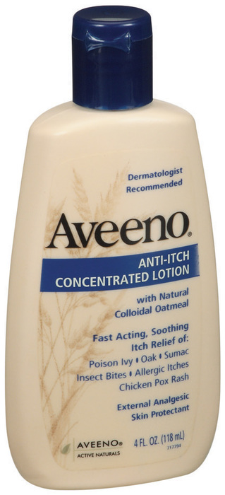 AVEENO Anti-Itch Concentrated Lotion - 4 OZ