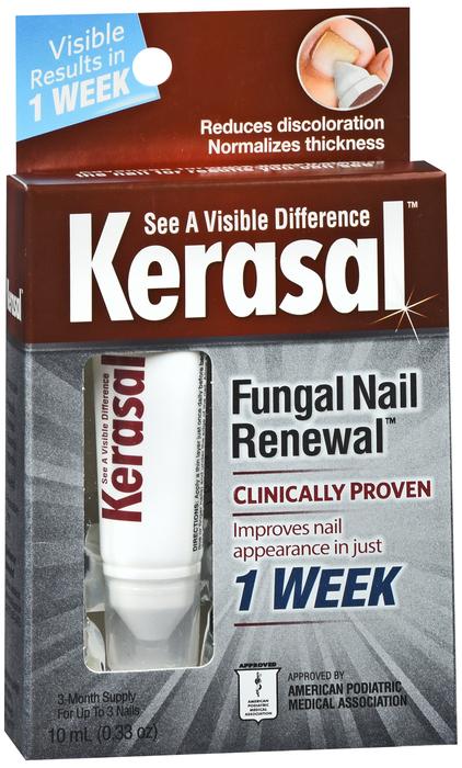 Kerasal Nail Fungal Nail Renewal Treatment - 0.3333 OZ