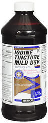Humco Mild Iodine Tincture USP - 16 OZ