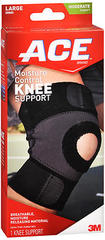 ACE Moisture Control Knee Support Large - 1 EA
