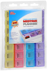 Ezy Dose Four-A-Day Weekly Medtime Planner 67169 - 1 EA