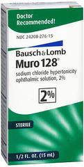Bausch + Lomb Muro 128 Solution 2% - 0.5 OZ