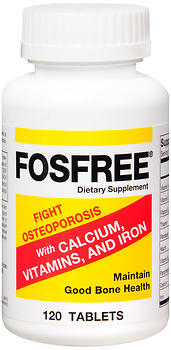 Fosfree Tablets - 120 TAB