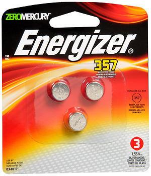 Energizer Watch/Electronic Batteries 357 - 1 EA