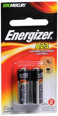Energizer Zero Mercury Alkaline Batteries/2 Pack Size A23 - 2 EA