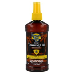 Banana Boat Deep Tanning Oil Spray Sunscreen SPF 4 - 8 OZ