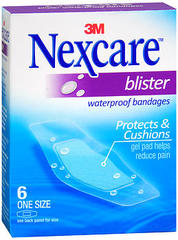 Nexcare Waterproof Bandages Blister 6 Pack One Size - 6 EA
