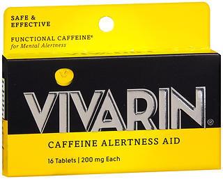Vivarin Caffeine Alertness Aid Tablets - 16 TAB