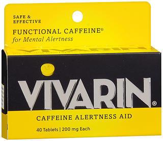 Vivarin Caffeine Alertness Aid Tablets - 40 TAB