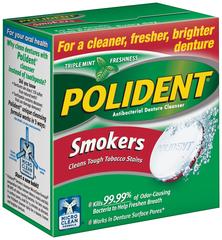 Polident Smokers Tablets - 40 TAB