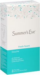 Summer's Eve Douche Twin Fresh Scent 2X4.5 Pack - 2 Each