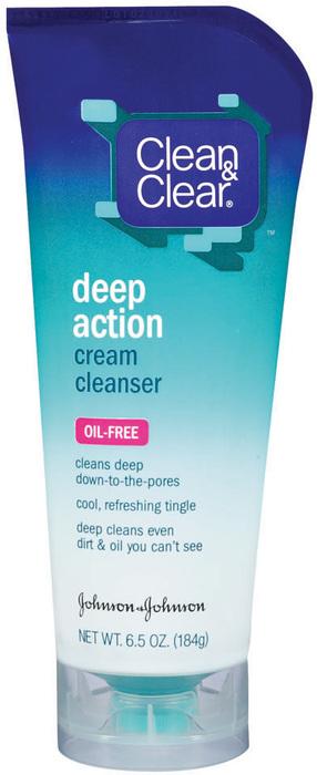 Clean & Clear Deep-Action Cream Cleanser  - 6.5oz