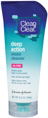 Clean & Clear Deep-Action Cream Cleanser  - 6.5oz