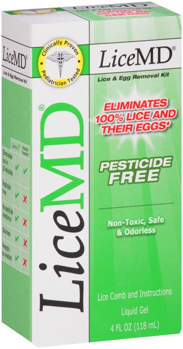 LiceMD Lice & Egg Removal Kit - 4 OZ