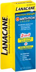 Lanacane Anti-Itch Cream Maximum Strength - 1 OZ