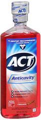 ACT Anticavity Fluoride Mouthwash Cinnamon - 18 OZ
