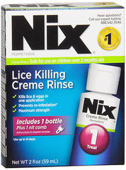 Nix Lice Killing Creme Rinse Treatment - 2 OZ