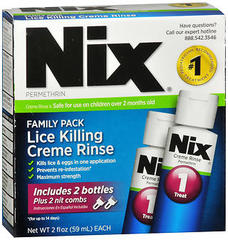 Nix Lice Treatment Family Pack - 4 OZ