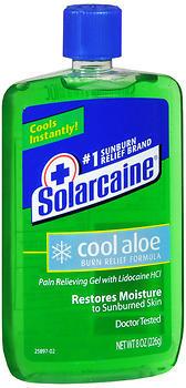 Solarcaine Cool Aloe Burn Relief Formula Gel - 8 OZ