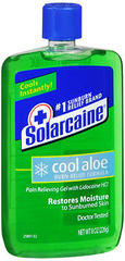 Solarcaine Cool Aloe Burn Relief Formula Gel - 8 OZ