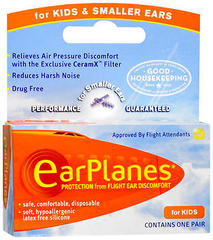 EarPlanes Ear Plugs Kid' - 1 EA