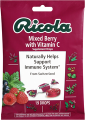 Ricola Supplement Drops Natural Mixed Berry - 19 EA