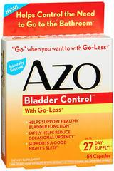 AZO Bladder Control Capsules - 54 CAP