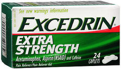 Excedrin Extra Strength Caplets - 24 TAB