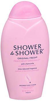 SHOWER TO SHOWER Absorbent Body Powder Original Fresh - 8 OZ