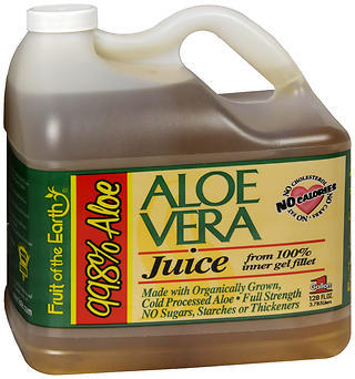 Fruit of the Earth Aloe Vera Juice - 128 OZ