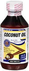 Humco Coconut Oil - 4 OZ