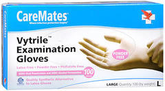 CareMates Vytrile Examination Gloves Large - 100 EA