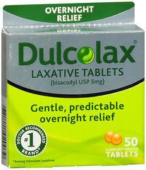 Dulcolax Laxative Tablets - 50 TAB