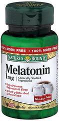 Nature's Bounty Melatonin 1 mg Tablets - 180 TAB