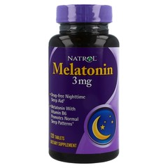 Natrol Melatonin 3 mg Tablets - 120 TAB