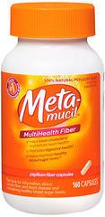 Metamucil MultiHealth Fiber Capsules - 160 CAP