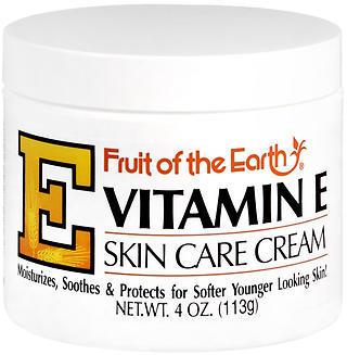 Fruit of the Earth Vitamin E Skin Care Cream - 4 OZ
