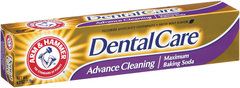 ARM & HAMMER Dental Care Fluoride Anticavity Toothpaste Advance Cleaning - 6.3 OZ