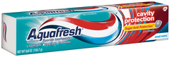 Aquafresh Cavity Protection Fluoride Toothpaste Cool Mint - 5.6 OZ