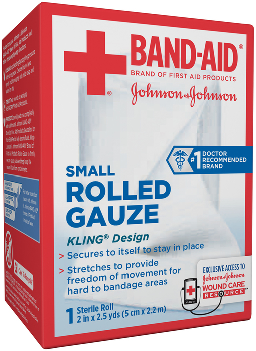 BAND-AID Rolled Gauze Small - 1 EA