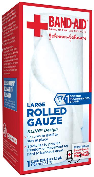 BAND-AID Rolled Gauze Large - 1 EA